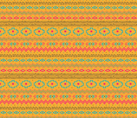 Hand_drawn_tribal_llama_orange-01_shop_preview