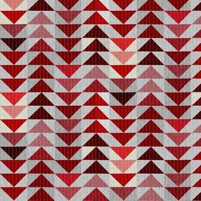 Tribal Quilt (crimson) SML