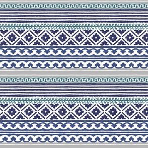 woodblock horizontal stripe.