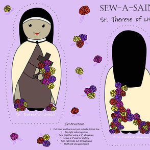 Sew a Saint: St. Therese of Lisieux