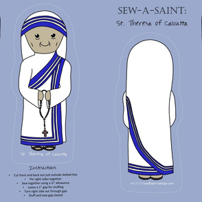 Sew a Saint: St. Mother Theresa of Calcutta