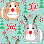 guinea-pig-reindeer-on-teal