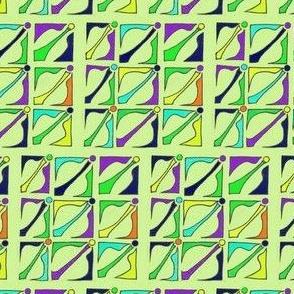 Green Wedding Tesselation