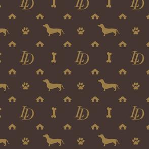 Louis Dachshund  Luxury Dog Attire