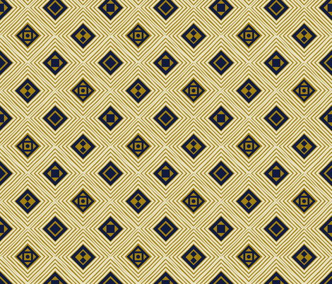 Tribal Diamond 02 fabric by designsyrup on Spoonflower - custom fabric