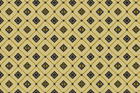Tribal Diamond 01 fabric by designsyrup on Spoonflower - custom fabric