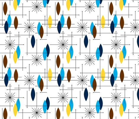Orbs#8AQ (large) Vertical fabric by tonyanewton on Spoonflower - custom fabric