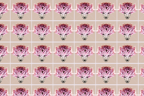 Deer Flower fabric by shynesslena on Spoonflower - custom fabric