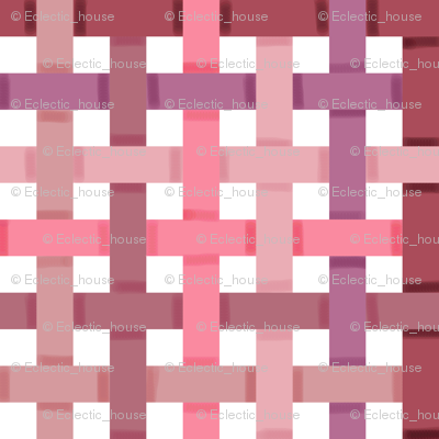 Woven Pink Ribbons