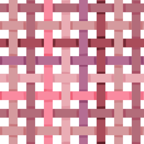 Woven Pink Ribbons fabric by eclectic_house on Spoonflower - custom fabric