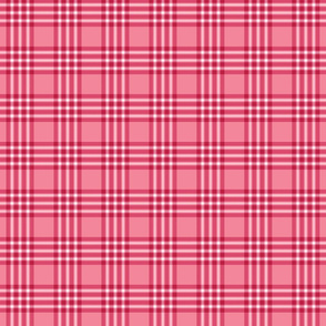 Pink and Red Valentine's Plaid