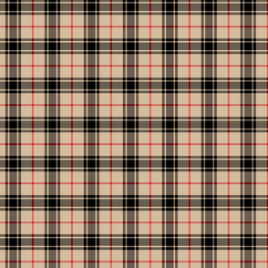 Winter Plaid - Red, Black, & Beige