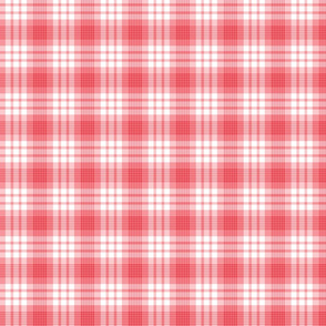 Pink and Red Christmas Plaid