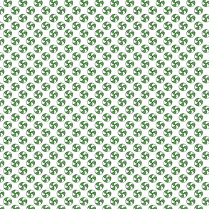 Green and White Christmas Candy Pattern