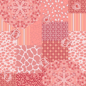 Pink Safari Through a Kaleidoscope