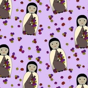 Sew a Saint: Saint Therese of Lisieux