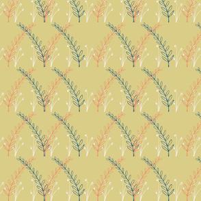 Homeland Flora Meadow in Mustard