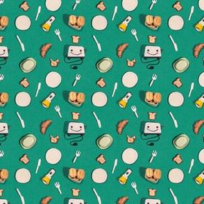 Cornell und der Toaster - Pattern