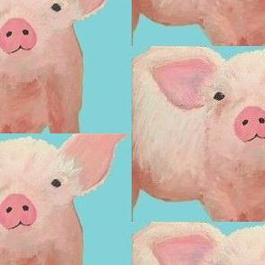 A pig pink