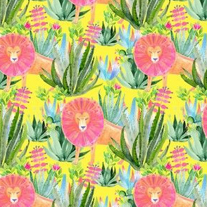 "4"" Modern Safari - Yellow"