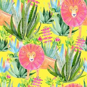"8"" Modern Safari - Yellow"