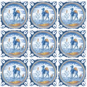 Vintage Camel Tile