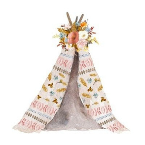 "8"" Autumn Love Teepee - White"