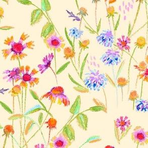 field flowers - vanilla