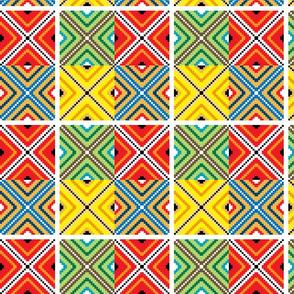 Inca Mosaic Tile Squares