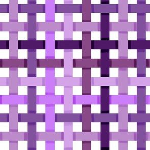 Woven Purple Ribbons