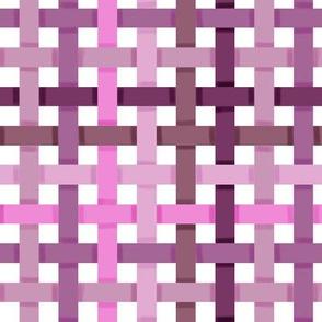 Woven Pinkish Purple Ribbons