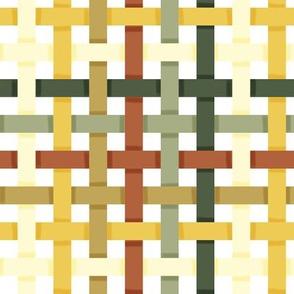 Woven Bayeux Palette Ribbons