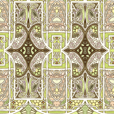 Some Medieval Morning fabric by edsel2084 on Spoonflower - custom fabric