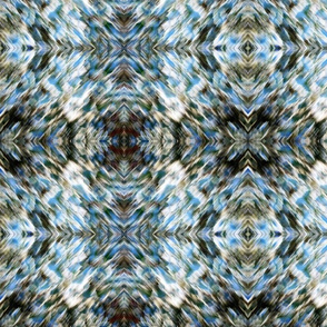 Kaung abstract variegated textile design 2013  554
