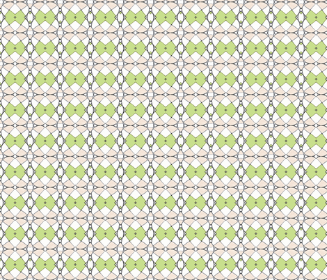 Beachball heaven ll-green-ed fabric by unclemamma on Spoonflower - custom fabric