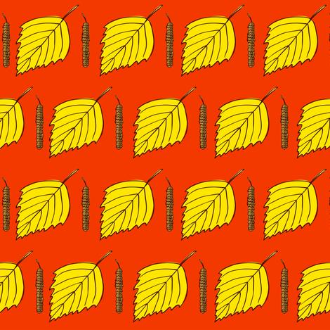 Betula pattertn1 fabric by evgeniav on Spoonflower - custom fabric