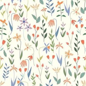 Wildflowers and Botanicals on Light