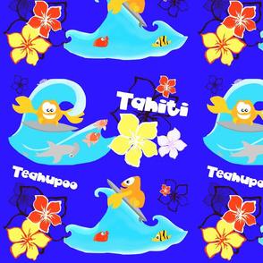 teahupoo surfing waves