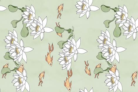 Goldfish fabric by caela_bee_designs on Spoonflower - custom fabric