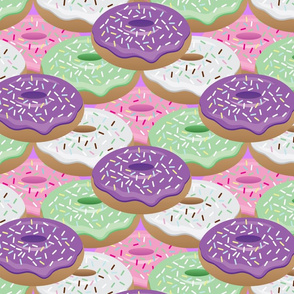 PASTEL DONUTS WITH SPRINKLES