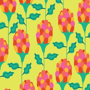 Mardi Gras Floral Storks