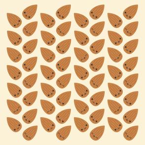 Cute Kawaii Almonds