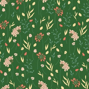 Wildflowers on Kelly Green