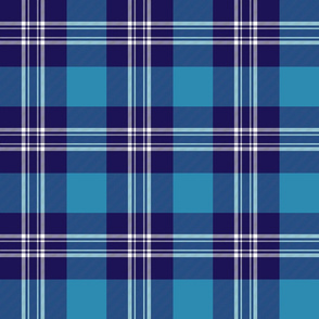 Earl of St. Andrews / St. Andrews District tartan, 6""