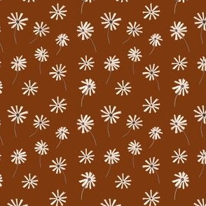 Brown and Cream Daisies