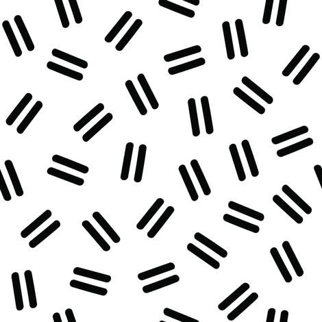 Postmodern Ants in White fabric by elliottdesignfactory on Spoonflower - custom fabric