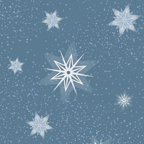Snowflakes 2 Large