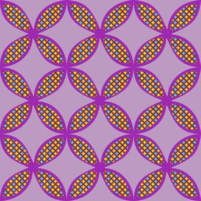 Purple Cloverleaf