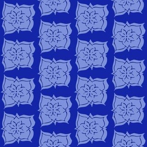 FavFlower Monochrome Blue