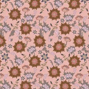 Vintage Pink Floral
